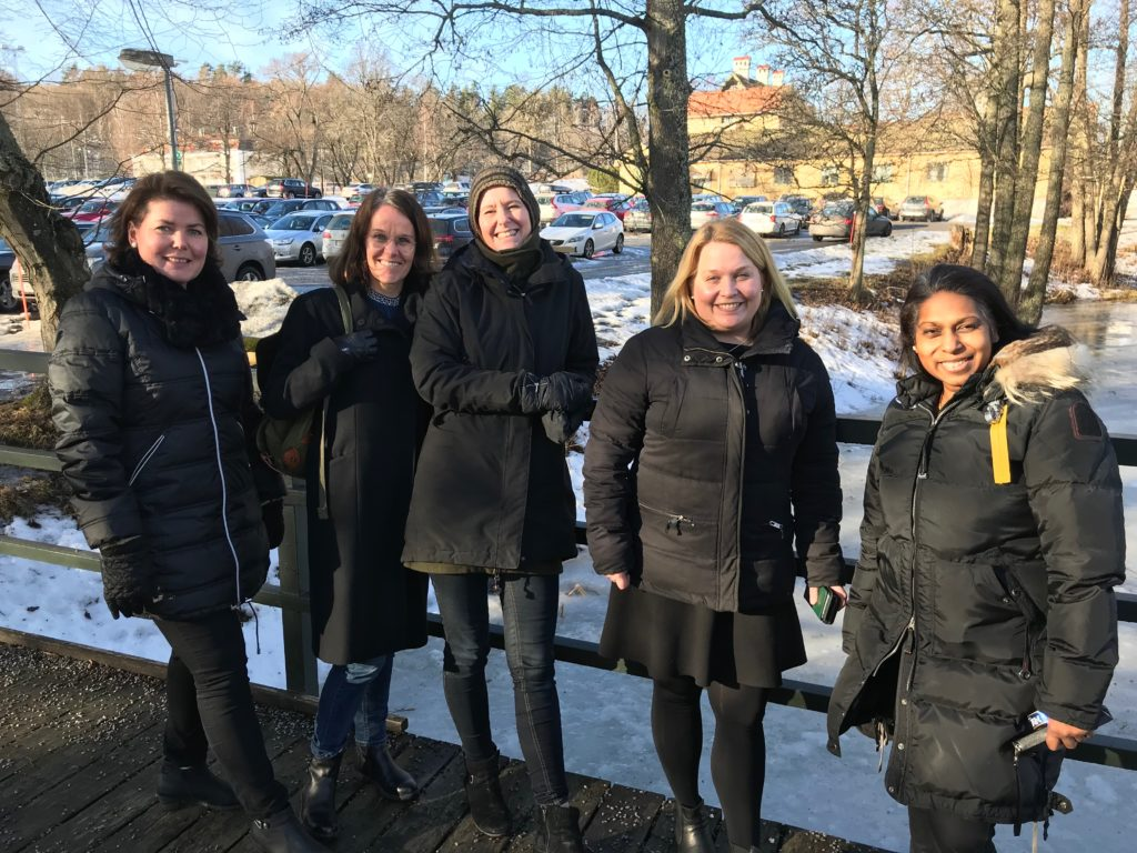 Projektledarna för Smart Kompetensprojektet