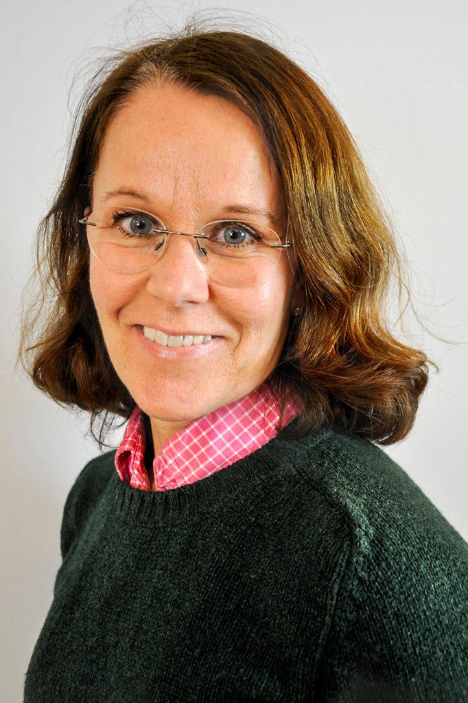 Porträttbild på Sari Lanninger