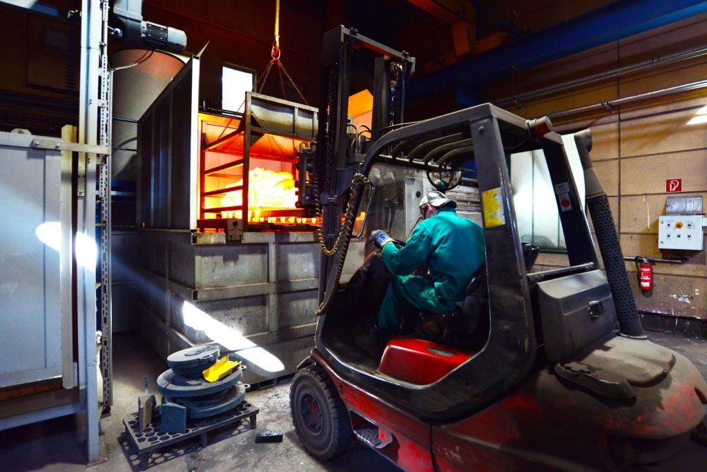Truck industrimiljö