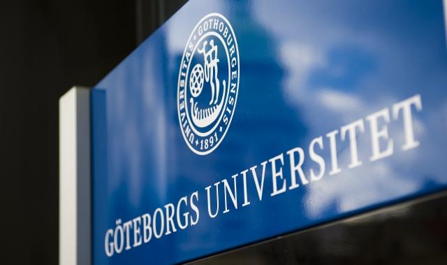 Göteborgs Universitets Skylt